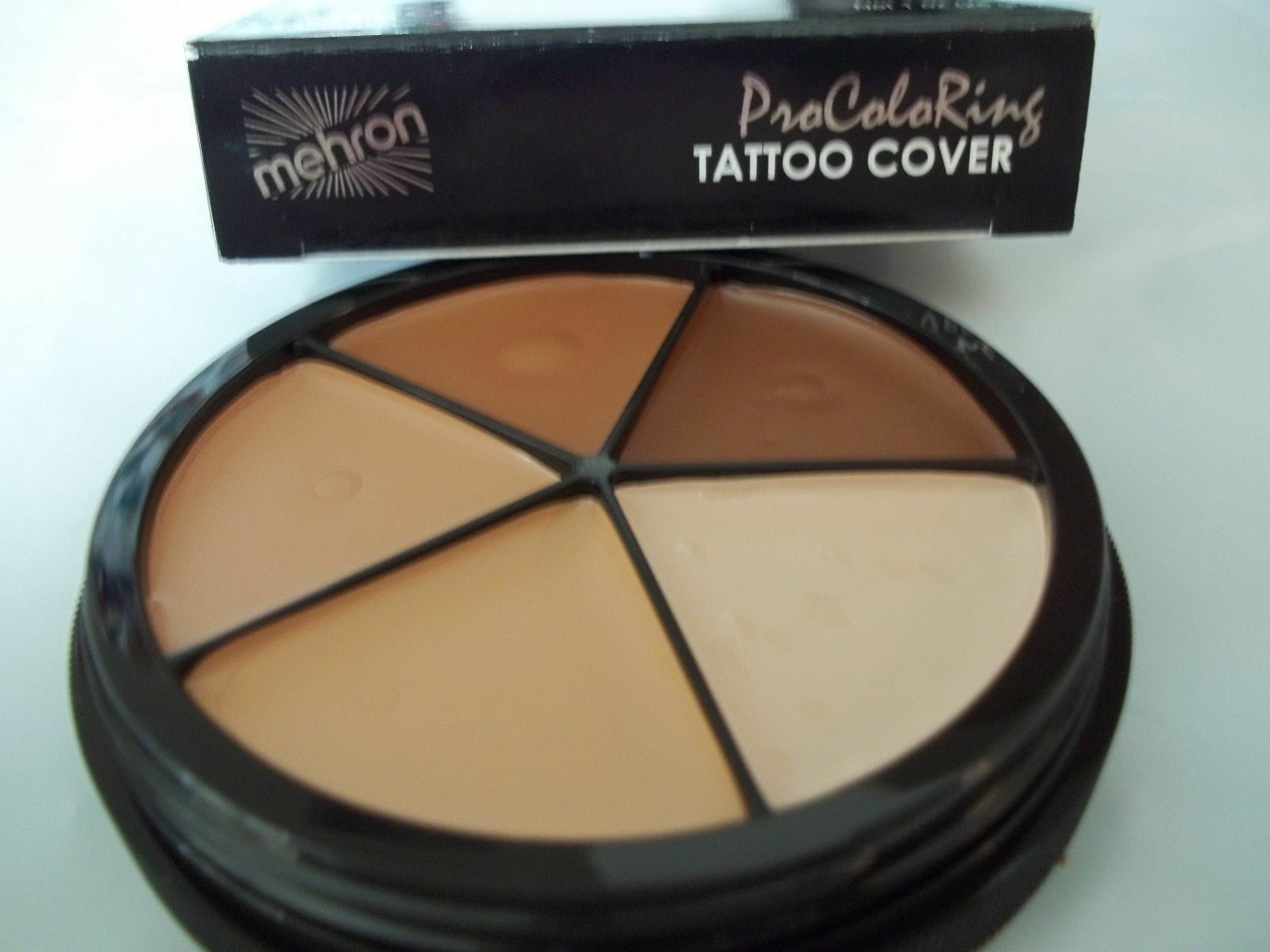 MEHRON TATTOO COVERRING CONCEALER WHEEL MAKE UP STAGE THEATER 505-T