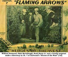 Heroes of the West  - Classic Cliffhanger Serial Movie DVD Noah Beery Jr.