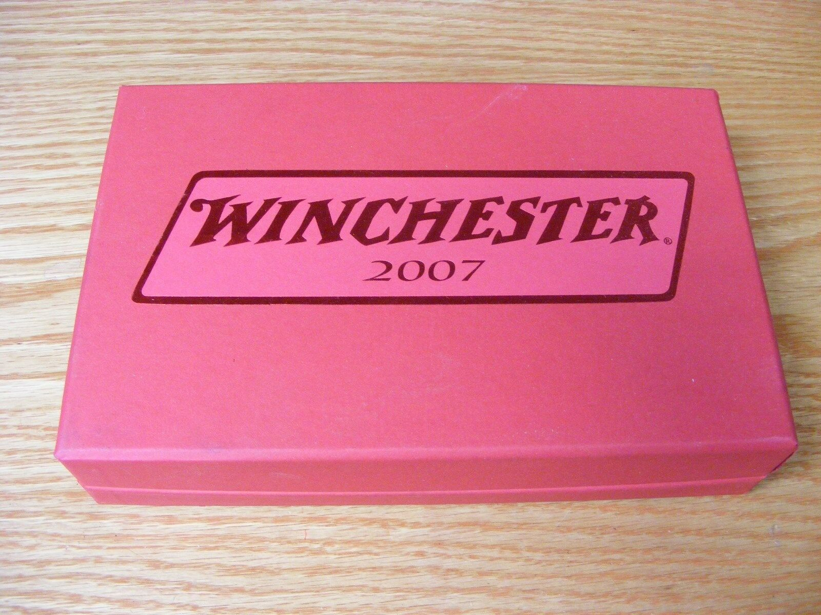 Winchester 4 Lure Set Master Box 2007 Sunset  Marble White Scale  export outlet