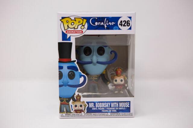 Funko Llc 32825 Pop Movies Coraline Mr Bobinsky With Mouse For Sale Online Ebay