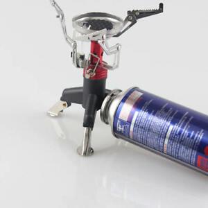 Outdoor camping hiking stove burner adaptor split type furnace converter LU