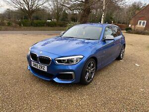 BMW M135i Estoril Blue MANUAL ONLY 31K FSH 5 DOOR F20