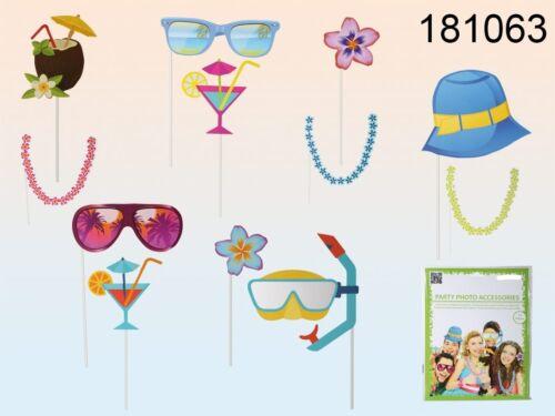 12x Partyzubehör Partymitbring Hochzeit Party Foto Verkleidung Photo Booth 001