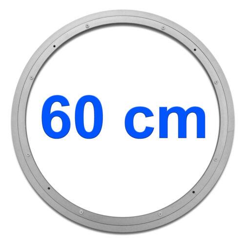 Couronne Pivotante Ø 600mm Aluminium Roulement Plateau Tournant Plaque Lenkkranz