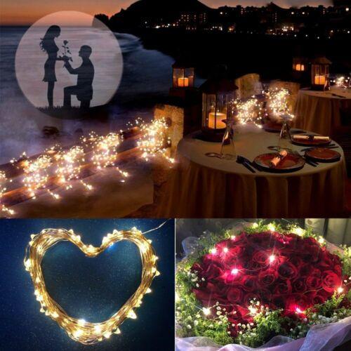 10M 20M LED Solar String Fairy Lights Party Xmas Wedding Garden Outdoor Decor RK