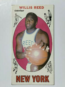 Willis-Reed-1969-Topps-Rookie-Basketball-Card-60-HOF-VG