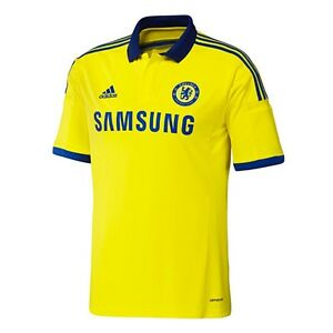 super popular 95726 68e6c adidas Chelsea FC 2014-2015 Away Soccer Jersey Brand New ...