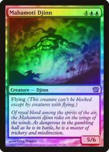 kaartspellen Magic The Gathering ~ 1x Mahamoti Djinn ~ REVISED ~  M/NM Magic: The Gathering, MTG)