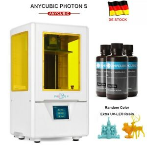 ANYCUBIC Photon S SLA Imprimante 3D Résine UV Desktop 3D Printer double axe z EU