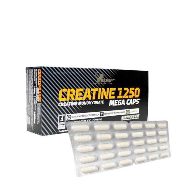 Olimp CREATINE MEGA CAPS 1250 Kreatin Blister Wählbar