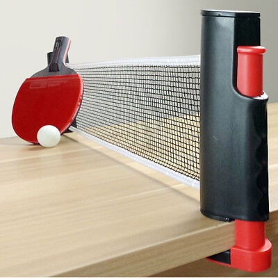 Games Retractable Table Tennis Ping Pong Portable Net Kit Replacement Set SC3031