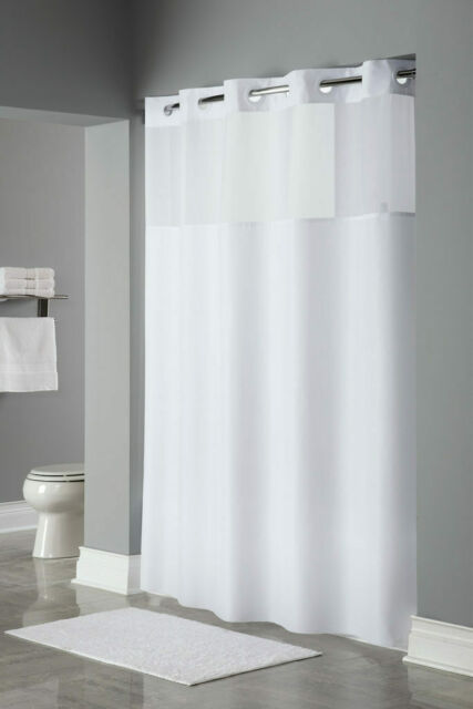 Hookless Brand Shower Curtain.Hookless Shower Curtain