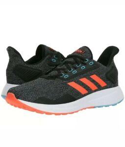 Details about Mens Size 12 Adidas Duramo 9 BB6919 BLACK SOLAR RED BLUE Shoes