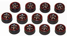 12 Brightvision Redline Wheels - 12 Medium Deep Dish Bright Chrome Style