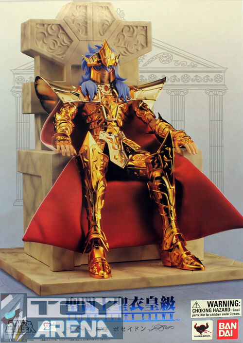 Saint Seiya Cloth Myth Crown Sea Emperor Poseidon 1/6 Scale 12