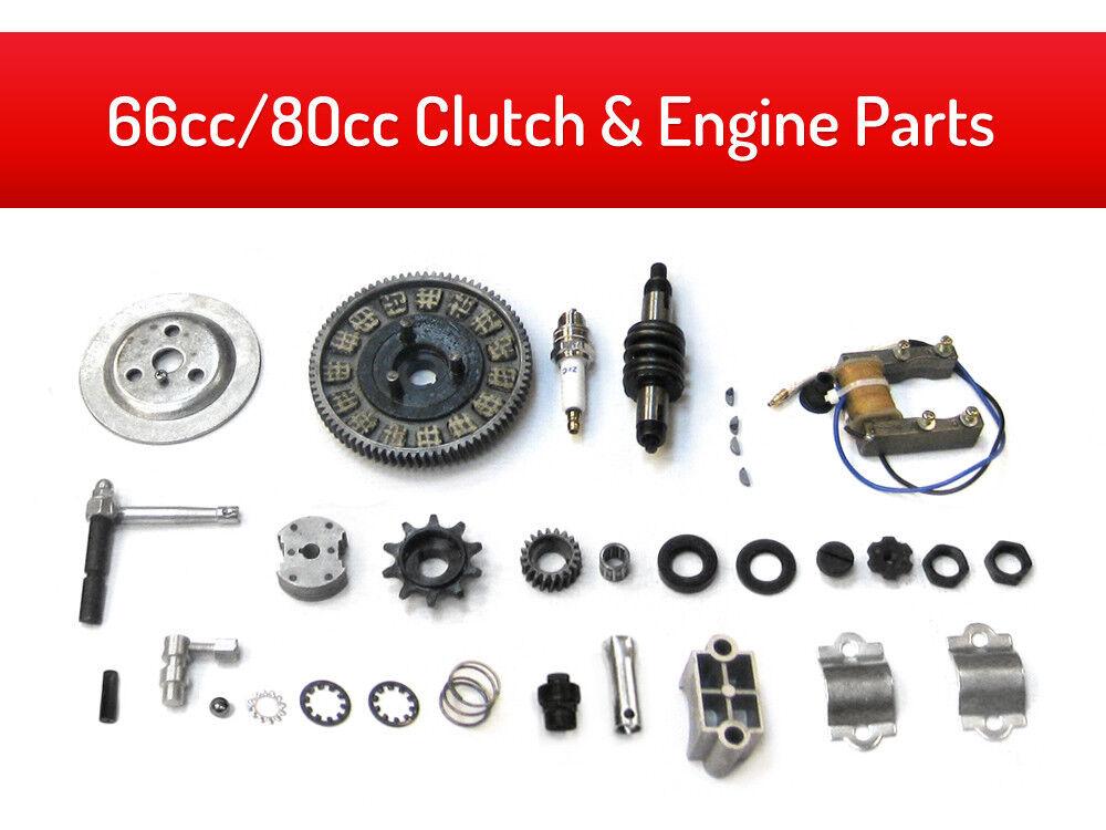 66cc 80cc Clutch & Engine Parts Kit   no minimum