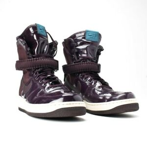 info pour 27aff 7f464 Details about Nike SF AF1 Shoes - Maroon Nike High Top Sneakers