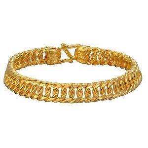 HEAD INJURY MEDICAL ID 9mm Italian Charm GOLD TONE CNTRE MATTE Starter Bracelet
