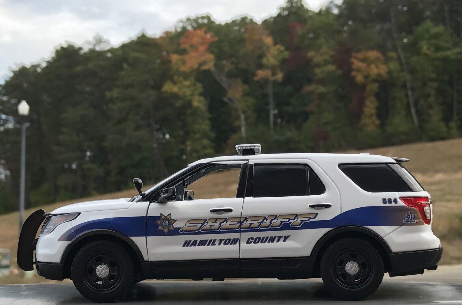Hamilton County Tennessee custom sheriff's diecast SUV Motormax 1 24 scale