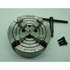 4-JAW-CHUCK-6-034-WITH-REVERSIBLE-INDEPENDENT-JAWS