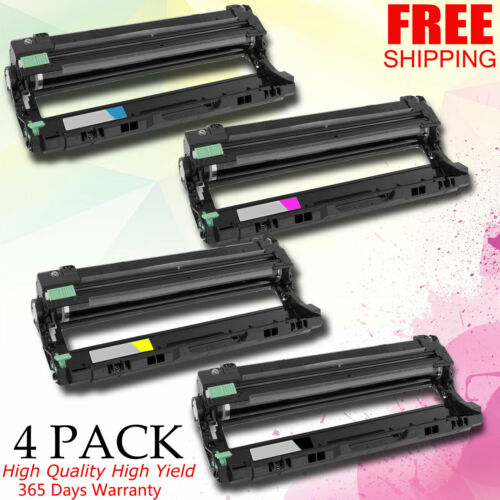 4 PACK DR223 CMYK Drum For Brother HL-L3210CW HLL3230CDW 3270CDW For Tn223 TN227