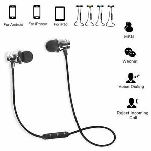 Bluetooth Headphone Wireless Headset With Microphone Samsung Iphone Ipad Android Ebay
