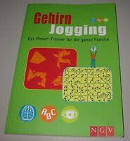 Gehirn Jogging Der Power Trainer für die ganze Familie Buch gebraucht!
