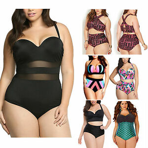 1c38e95515 Cleaning Women Push Up Padded Plus Size Bikini Set swimsuit High ...