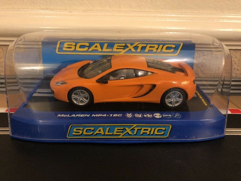 Scalextric Mclaren MP4-12C C3200 Excellent Condition Very Little Use