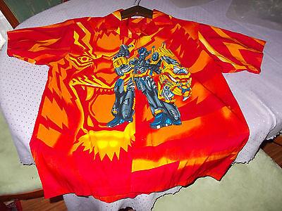 Vereinigt Identic Herren Hemd Gr. 41/42 Mit Motiv Transformers Figur