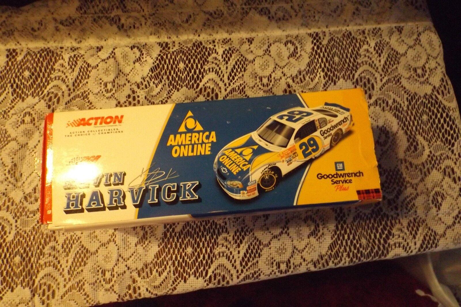 Acción collectiable la elección de campeones Kevin Harvick Escala 1 24 Stock Car