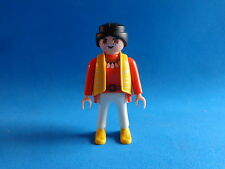Playmobil Mujer con chaleco amarillo Girl with yellow cardigan Frau gelbe Weste