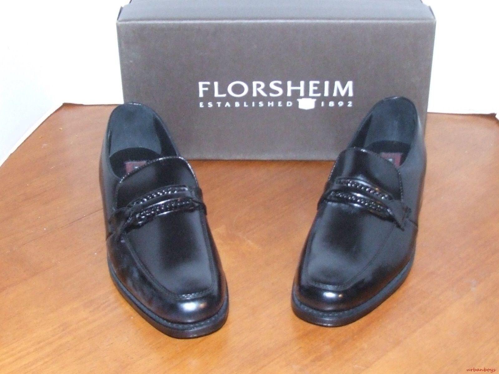 grande vendita Florshiem Richfield Richfield Richfield nero Leather Slip On Dress scarpe  merce di alta qualità e servizio conveniente e onesto