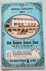 Vintage-New-Hampton-General-Store-1971-General-Catalogue-Very-Good