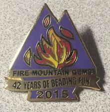 FIRE MOUNTAIN GEMS 2015 ~ Beading Lapel Hat Pin