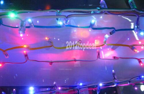 50pcs Rosa módulo Led Dc5v 9mm Led Pixel Lámpara expuestos Luz Cadena Impermeable