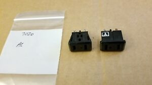 NAD 7020 receiver ac outlets sockets