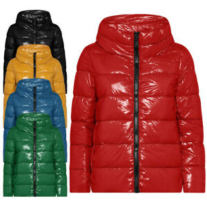 Piumino-donna-ARTIKA-Azimut-Jacket-N087-lucido-giubbotto-giacca-invernale