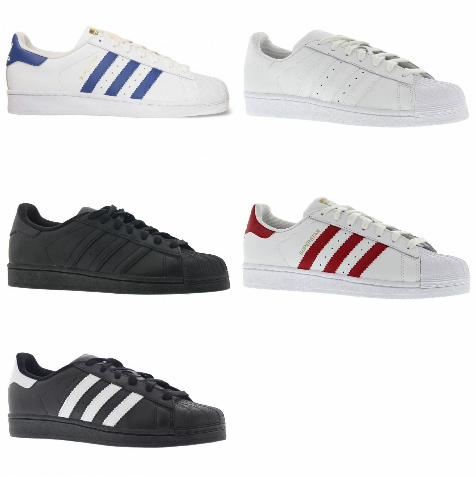 Adidas Superstar Foundation Leather Mens Trainers