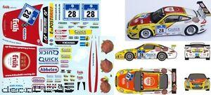 1//43 Decal Porsche 911 GT3 Cup /'Dörr Motorsport/' 24h Nürburgring 2012