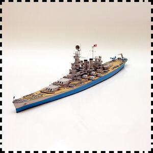 1-400-Scale-USS-North-Carolina-class-Battleship-DIY-Handcraft-Paper-Model-Kit