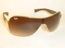 ec4d27bd53 item 2 New RAY BAN Shield Sunglasses Gold Frame RB 3471 001 13 Gradient  Brown -New RAY BAN Shield Sunglasses Gold Frame RB 3471 001 13 Gradient  Brown