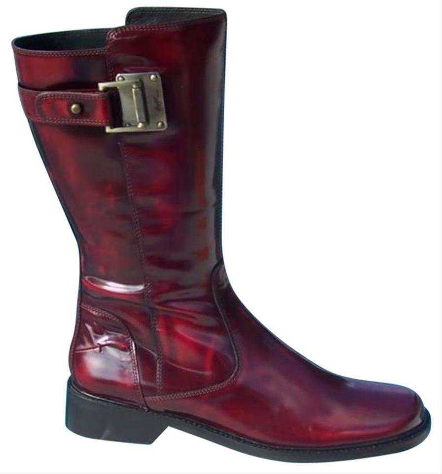 Donald Pliner Peace Polished Calf Boot shoes Riding Boot New 6 6.5 9 Couture  495