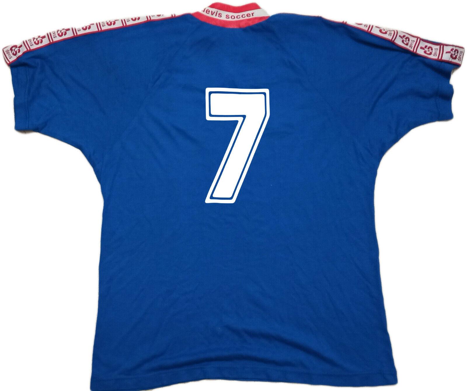 Maglia Como vintage DEVIS ZAMBrossoTA  7 7 7 ventex jersey COMO match worn L 1994 1995 f2f