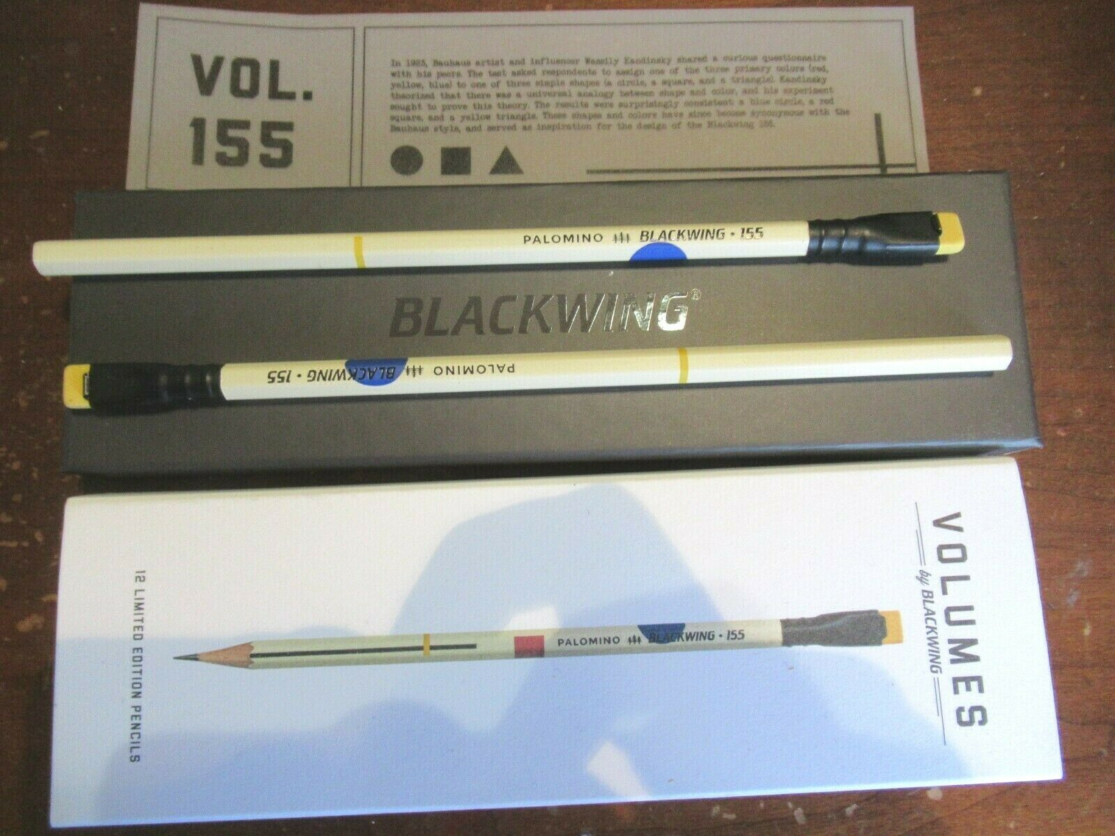 Palomino Blackwing Volume 10 limited edition single pencil