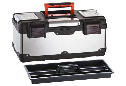Domus TS-220 Cassetta Attrezzi Portautensili Acciaio Inox Bricolage Utensileria