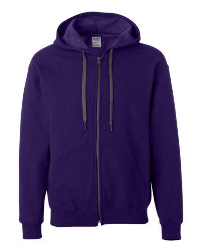 Gildan Heavy Blend Vintage Classic Full-Zip Hoodie Hooded Sweatshirt 18700 SALE!