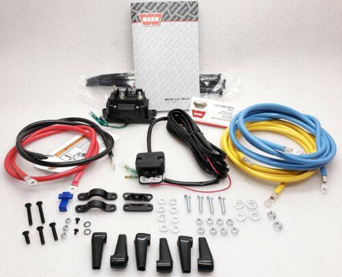 A2000 to an 2.5ci WARN 63990 Winch Contactor Upgrade Kit w//Rocker Switch