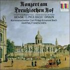 Konzert Am Preussischen Hof (Concert At The Prussian Court) (CD, Dec-2002, Berlin Classics)