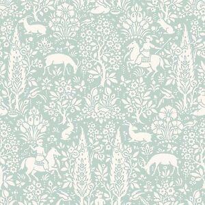 Archives-Foret-Papier-Peint-Oeuf-de-Canard-Couronne-M1166-Floral-Neuf
